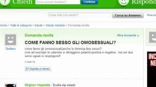 Yahoo! Answer - Domande Idiote.