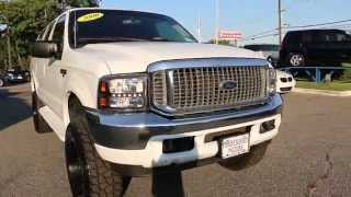 Review of LIFTED 2000 Ford Excursion Limited Edition For Sale~Custom Rims & Exhaust~FANTASTIC!!