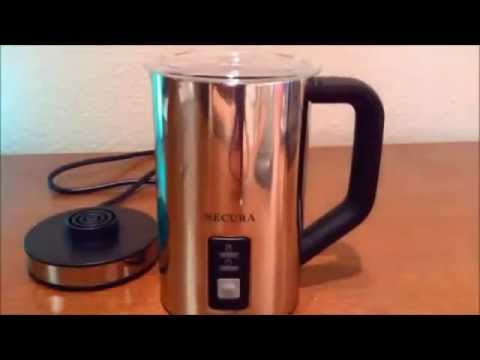 Secura Automatic Electric Milk Frother and Warmer Review
