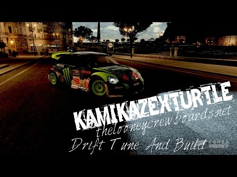 2014 Volkswagen Beetle GRC Drift Tune And Build Forza Horizon 2
