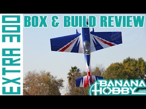 Extra 300 FMS   Box & Build Review   Aerobatic 3D