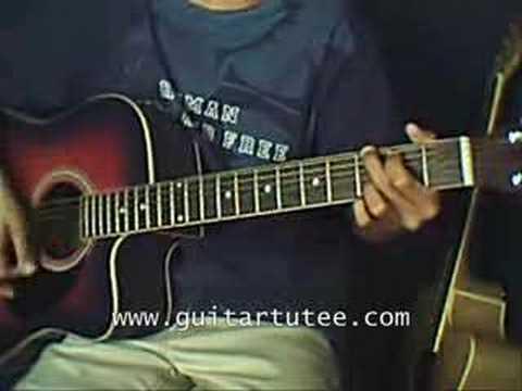 Burn (of Tina Arena by www.guitartutee.com)