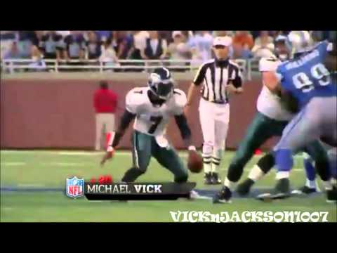 highlights of michael vick mostly from his comeback year with the philadelphia eagles. I Do NOT own any of the content in this video. all rights go to the NF...