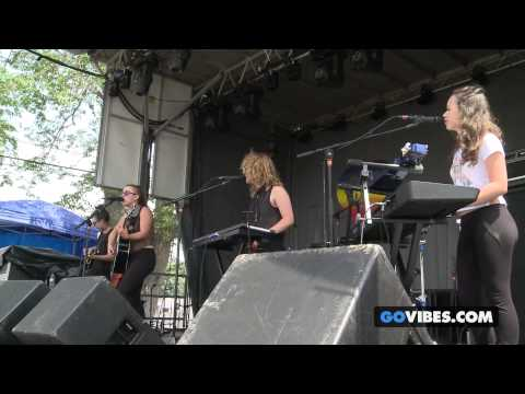 "von Grey performs ""Deliverance"" at Gathering of the Vibes Music Festival 2013"