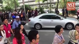 Bomb hoax at Bursa Malaysia