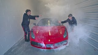 I BROKE MY TWIN'S FERRARI..