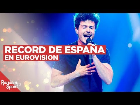 El Record de España en Eurovision