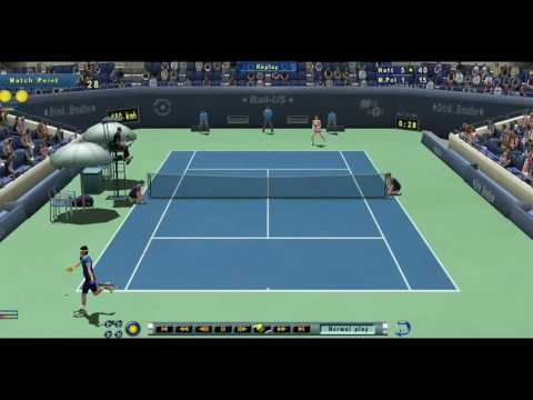 Tennis Elbow 2013 - Natt vs Mina Polna - Nice point - *Online*