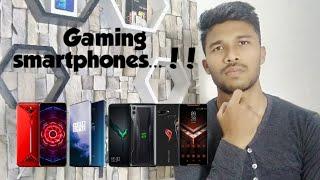 Nubia red magic 3 VS Black shark 2 VS OnePlus 7 pro VS Asus ROG || Gaming smartphones comparison