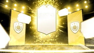 WE PACK AN ICON!! TOP 100 FUT CHAMPIONS REWARDS! | FIFA 19 ULTIMATE TEAM