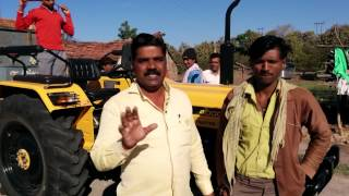 Escorts powertrac ALT 4000 Mandav Ghat (Dhar) Demo