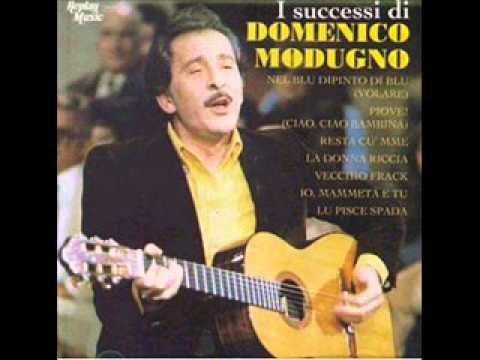 Domenico Modugno - Appendi Un Nastro Giallo