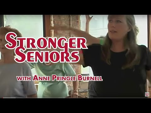 Stronger Seniors Strength -  Senior Exercise Aerobic Video, Elderly Exercise, Chair Exercise