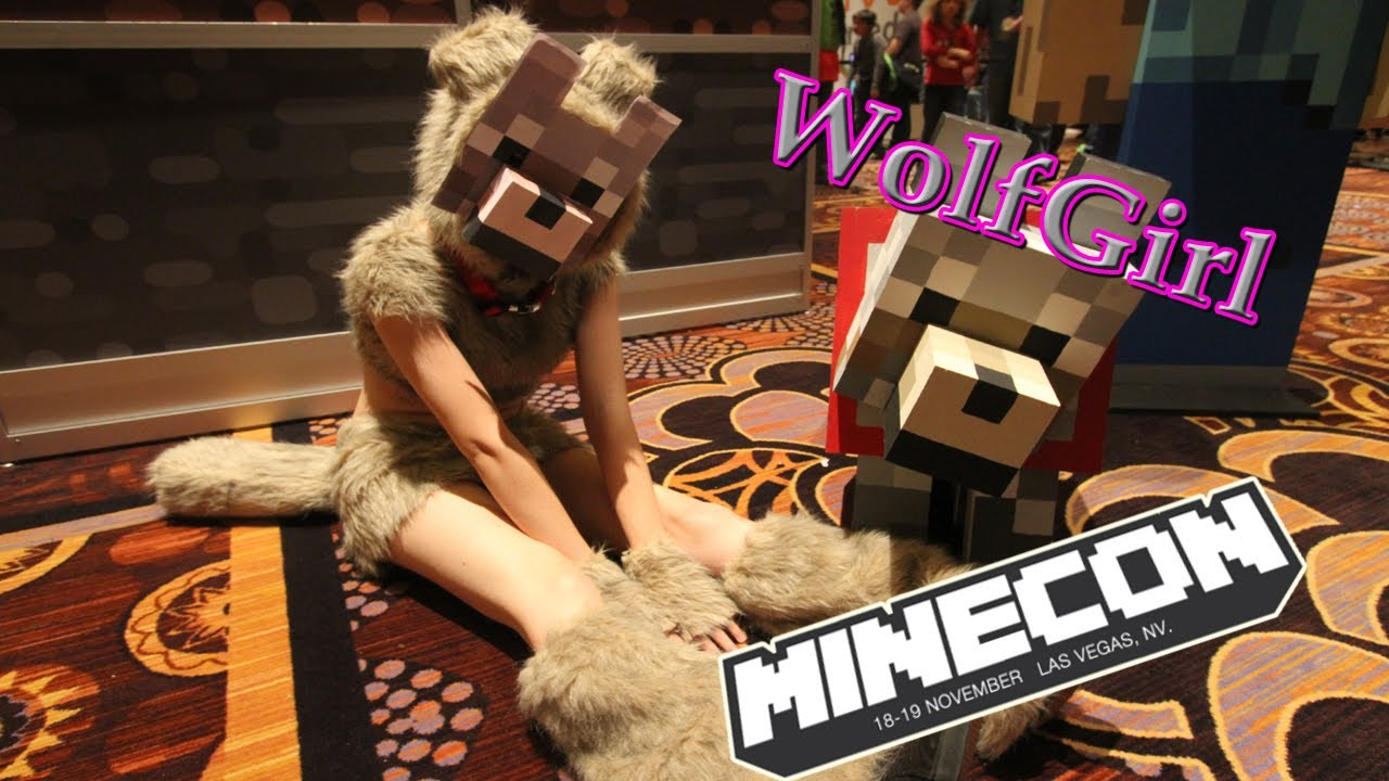 Wolf girl minecraft