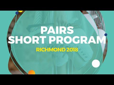 Panfilova Apollinariia / Rylov Dmitry (RUS)   Pairs Short Program   Richmond 2018