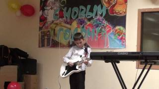 Gary Moore - Parisienne Walkways(cover)-Vova Chernoklinov(kids Guitar)