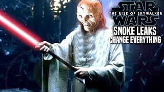 Snoke Leaks Change Everything! The Rise Of Skywalker (Star Wars Episode 9)