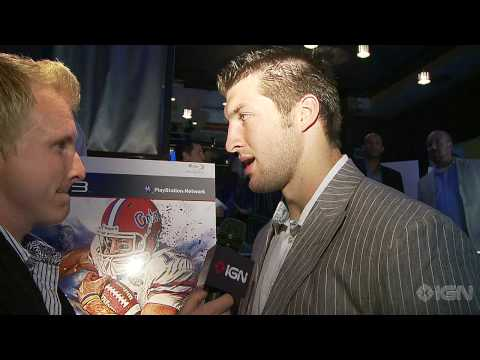 NCAA Football 11: Tim Tebow Interview