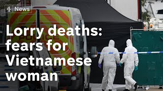 Relatives fear Vietnamese woman among Essex lorry dead