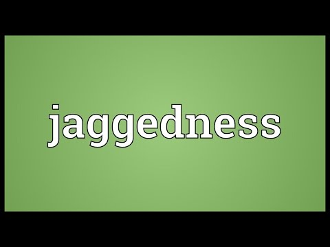 Header of jaggedness