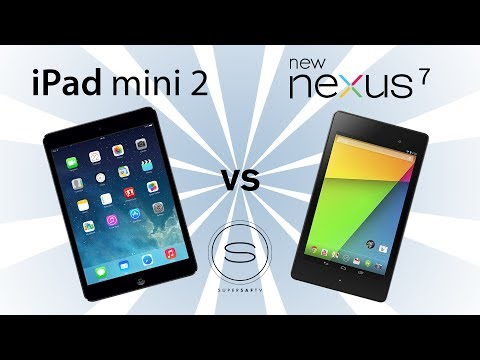 iPad Mini 2 (Retina) vs New Nexus 7 (2)