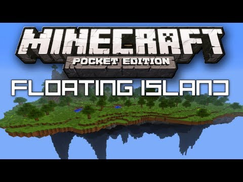 BEST Floating Island Seed - Minecraft Pocket Edition