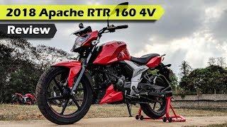 2018 TVS Apache RTR 160 4V Review in Hindi - ICN Studio