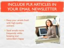 PLR Articles: Top 10 Ways to Use Private Label Rights