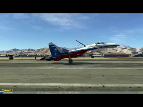 DCS World 2, all Aircraft arrival one by one [Maximum Graphics]