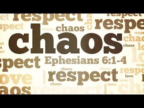 Love, Respect, Chaos: Chaos