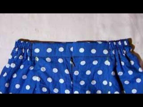 cara menjahit rok dengan ban pinggang berkaret thumbnail