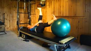 10-Minute Pilates Stability Ball Workout