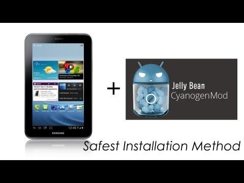 Galaxy Tab 2 7.0 - How to Install Jellybean CM10 Cyanogenmod (P3100 / P3110 / P3113) - Cursed4Eva