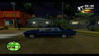Ford Falcon Drag on GTA San Andreas