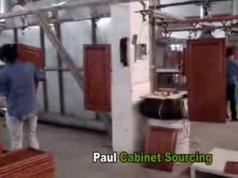 Kitchen Factory : China kitchen cabinet factory tour - YouTube