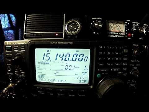 SWL: Oman National Day 20 Nov '15 1537 UTC 15140 khz AM