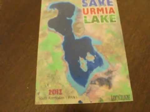 Save Urmia Lake Postcards available at: www.lenticologne.com