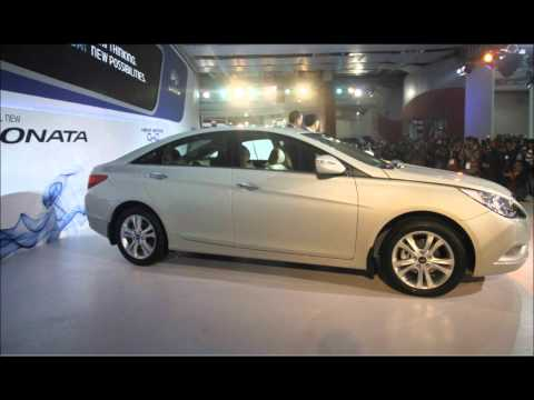 Hyundai New Sonata 2012 at Auto Expo 2012 Delhi