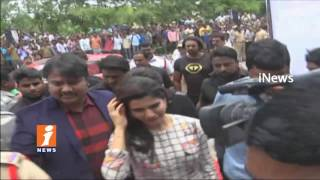 Actress Samantha Announces Her Marriage Date In Hanamkonda   Launches BIG C Mobile Showroom   iNews
