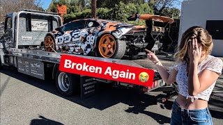 THE LAMBORGHINI IS BROKEN AGAIN AND IT'S EMBARRASSING...