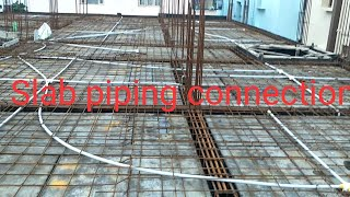 How to fix Electrical PVC Pipeing in Slab in Shop Wiring | explain Electrical PVC Pipeing