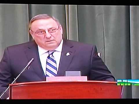 Maine Governor Paul LePage's 2015 State of the State Address (Pt 2)
