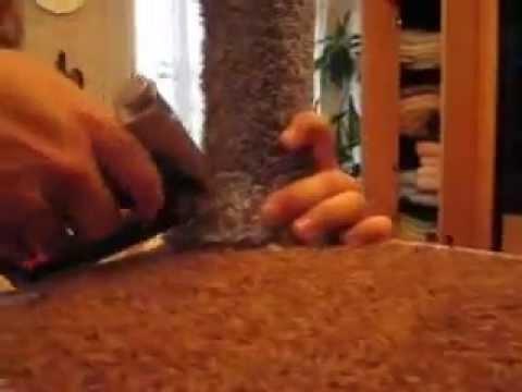 Когтедралка / когтеточка для кошки своими руками !!!