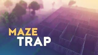 MAZE TRAP! (Fortnite Battle Royale)