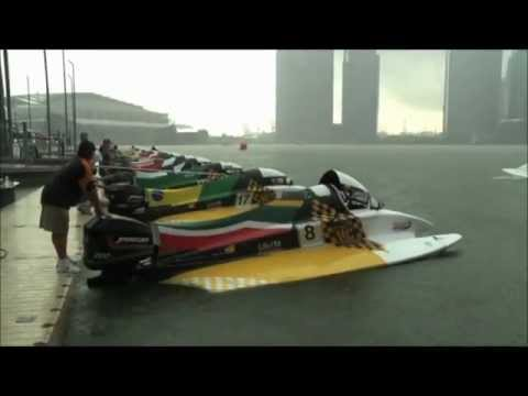 F1 Nations Cup Singapore 2011 - Video from h2o racing (cropped version)