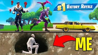 I Found The BEST HIDING SPOT In Fortnite Battle Royale!