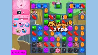Candy Crush Saga Level 2852 17 moves NO BOOSTERS Cookie