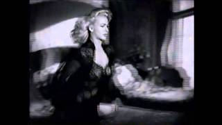 Sexy Carole Landis In A Negligee ~ Having Wonderful Crime