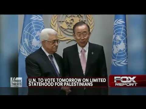 Israel : United Nations vote recognizing the State of Palestine defying God Joel 3:2 (Nov 28, 2012)