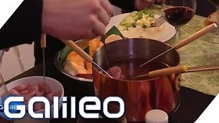 So gelingt das perfekte Fondue | Galileo Lunch Break